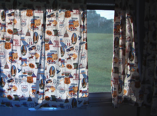 I Love These New Curtains. They Make The Place So Homey. Next Project Is  Redoing The Floor And Making Quilts For The Beds.
