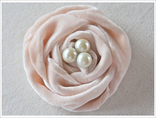 Fabric Rose Tutorials | Parasol Parlor